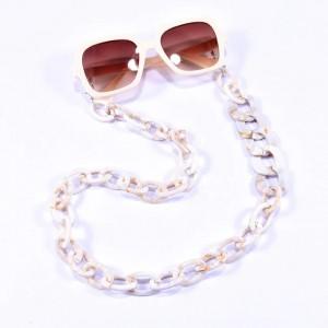 Eyewear acrylic chain pink CH2371