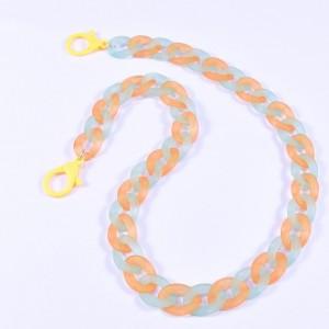 Eyewear acrylic chain multicolor CH2358