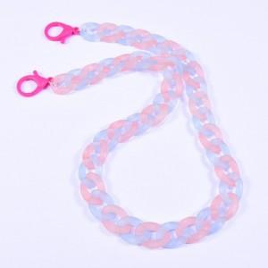 Eyewear acrylic chain multicolor CH2359