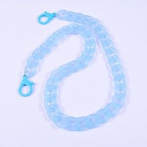 Eyewear acrylic chain blue CH2368