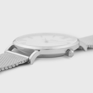 CLUSE Minuit Ladies watch silver stainless steel bracelet CW0101203002