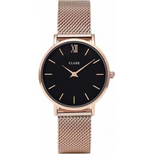 CLUSE Minuit Ladies watch rose gold stainless steel bracelet CW0101203003