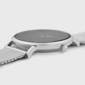 CLUSE Minuit Ladies watch silver stainless steel bracelet CW0101203005