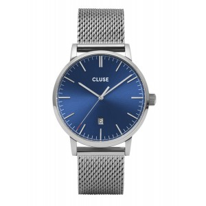 CLUSE Aravis Watch Silver-tone Stainless Steel Strap CW0101501004