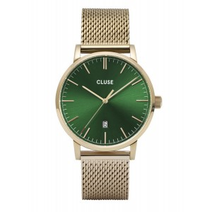 CLUSE Aravis Watch Gold Stainless Steel Strap CW0101501006