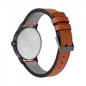 HUGO by HUGO BOSS Stand Men's watch Brown Leather Strap 1530075