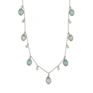 JOOLS Neclace Silver 925  with  jems SN2170.1