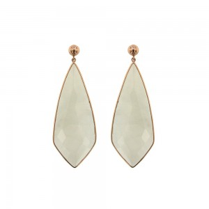JOOLS Earrings Rose Gold plated silver 925 with jems  ER-51586.1