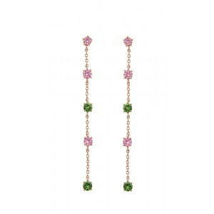 JOOLS Earrings Rose Gold plated silver 925 with crystals  JSE2303.6