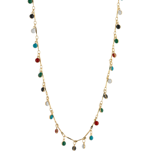Breeze Ladies necklace in stainless steel gold plated  & zc 410033.1