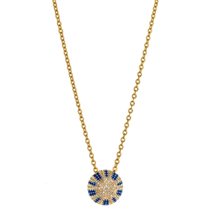 Breeze Ladies necklace in stainless steel gold plated   410039.1