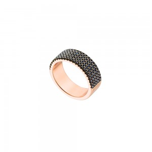 OXETTE OPTIMISM  Ladies Ring Silver 925 Rose Gold plated 04X15-00107