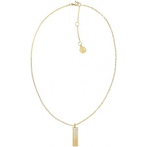 TOMMY HILFIGER Ladies Necklace in  Stainless Steel Gold plated 2780420