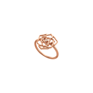 VOGUE Ladies Ring silver 925 rose gold plated & zc 3110102
