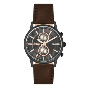 LEE COOPER Men's Watch Brown Leather strap LC06832.062