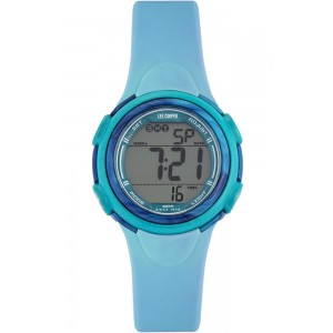 LEE COOPER ORIGINALS Women's watch with blue silicone strap ORG05201.027