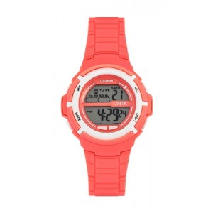 LEE COOPER ORIGINALS Ladies watch with salmon silicone strap ORG05202.028