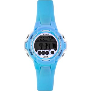 LEE COOPER ORIGINALS Kids watch with light blue silicone strap ORG05204.027