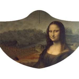 Face Mask LOQI LEONARDO DA VINCI Mona Lisa