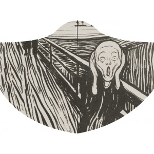 Face Mask LOQI EDVARD MUNCH Scream