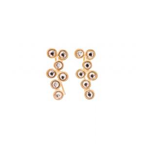 Lifelikes Gold Shooting Stars Earrings
