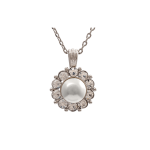 LILY AND ROSE PETITE MISS SOFIA NECKLACE- CRYSTAL (SILVER) 40261