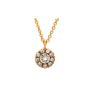 LILY AND ROSE PETITE MISS SOFIA NECKLACE- CRYSTAL (SILVER) 40601