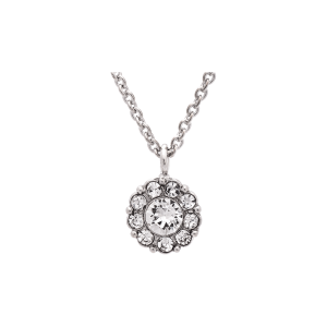 LILY AND ROSE PETITE MISS SOFIA NECKLACE- CRYSTAL (SILVER) 40602