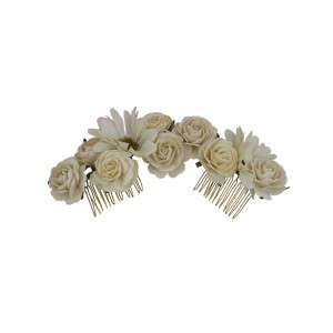 ROSIE HAIRPIECE- IVORY (CRÉME)