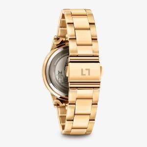 MILLNER CHELSEA MONEY DIAL Gold Stainless Steel Bracelet CCMD
