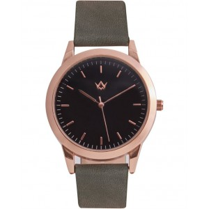WATCHME Inspiration Olive Green Leather Strap 01-0190.2