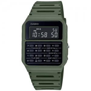 CASIO Vintage  Watch Khaki rubber strap CA-53WF-3BEF