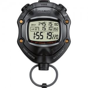 CASIO Chronometer black  resin case HS-80TW-1EF