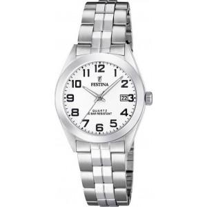 FESTINA  Ladies Silver-tone stainless steel bracelet F20438/1