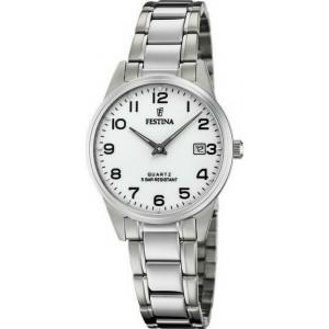 FESTINA  Ladies Silver-tone stainless steel bracelet F20509/1