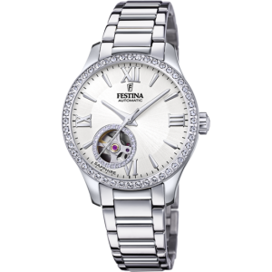FESTINA  Ladies watch automatic Silver Stainless Steel Bracelet F20485/1