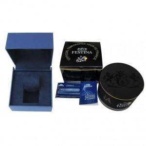 FESTINA  Men's watch chronograph Silver Stainless Steel Bracelet  F20543/4