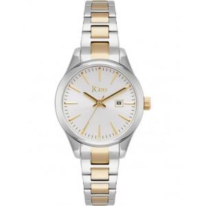 JCOU Aphrodite Ladies Watch Silver/Gold Stainless Steel Bracelet JU19051-1