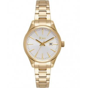 JCOU Aphrodite Ladies Watch Gold Stainless Steel Bracelet JU19051-3