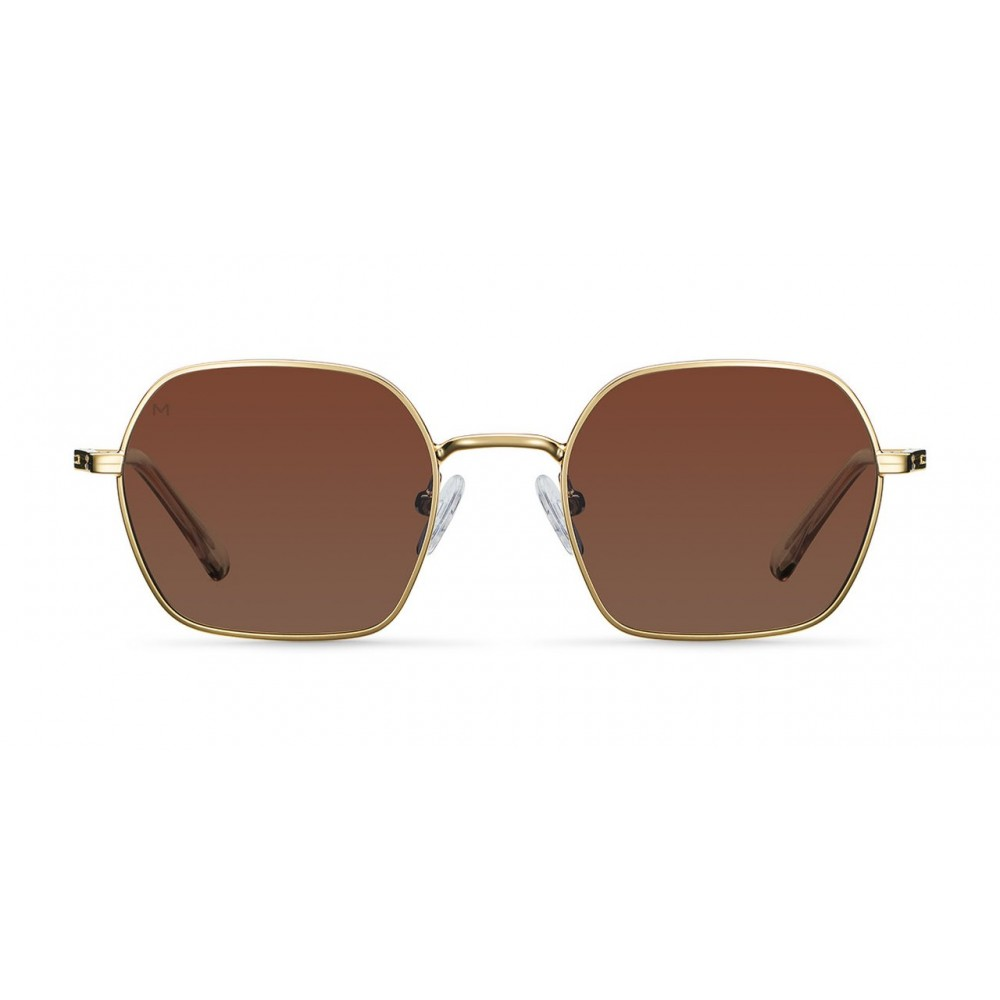 MELLER ALEIA GOLD KAKAO - UV400 Polarised Sunglasses