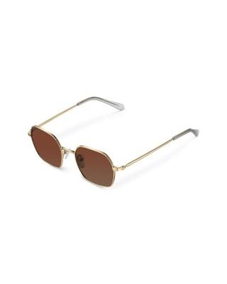 MELLER ALEIA GOLD KAKAO - UV400 Polarised Sunglasses