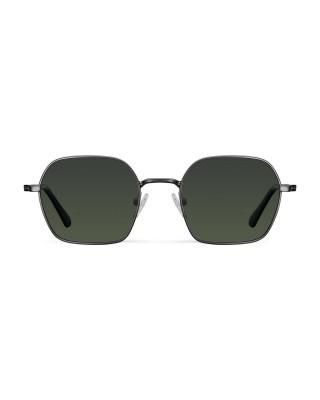 MELLER ALEIA GUNMETAL OLIVE - UV400 Polarised Sunglasses