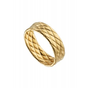 OXETTE Ladies Ring Silver 925 Gold plated 04X05-01462