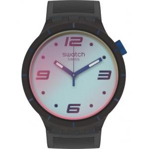 SWATCH FUTURISTIC GREY Watch Black Strap SO27B121