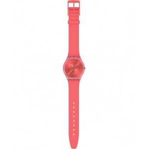 SWATCH SWEET CORAL Ladies Watch Red Strap SS08R100