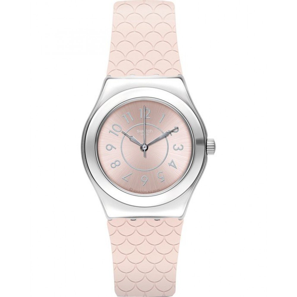 SWATCH BY COCO HO Ladies watch Pink Silicone strap YLZ101