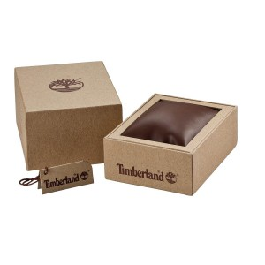 TIMBERLAND ALBURGH Men's Automatic Watch Brown Leather strap TDWGE2101201